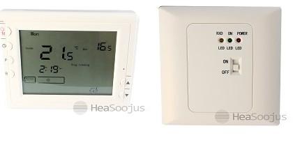 Termostaat T4 juhtmevaba programmeeritav + süvistatav