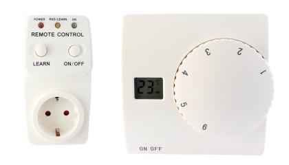 Termostaat T2 juhtmevaba + pistikühendus